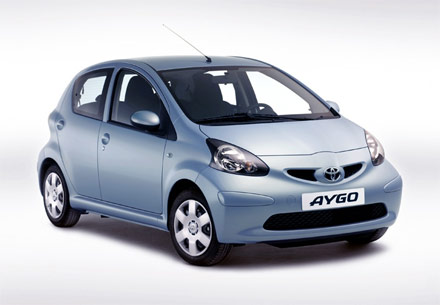 2006 Toyota Aygo For Sport Concept. The Aygo can get